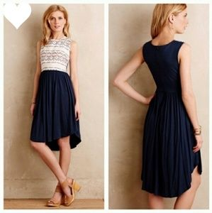 Anthropologie Dolan Sabado Aztec Navy Dress XS